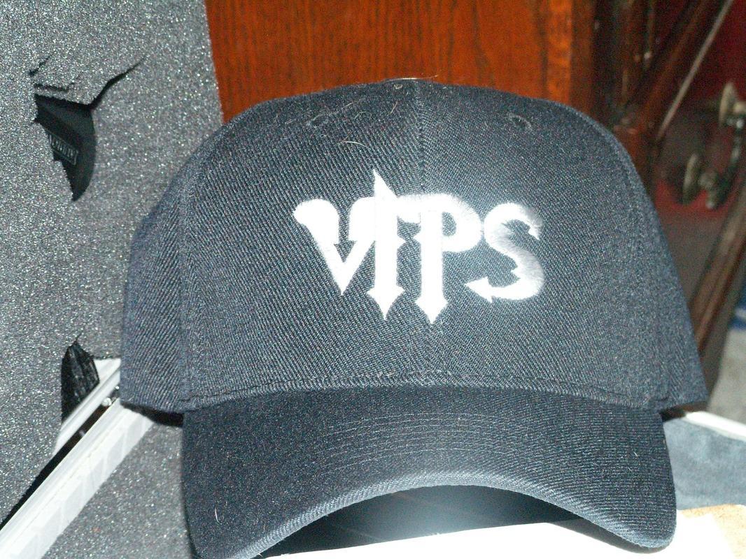 VIPS Cap Black/Gray Logo